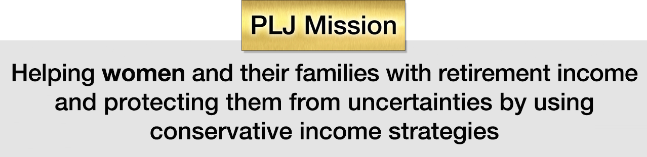 PLJ Income's mission statement
