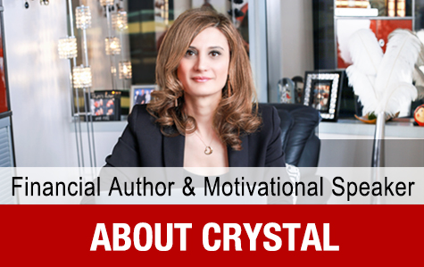 Crystal Oculee Financial Author and Motivational Speaker